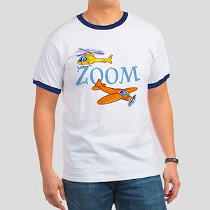 Airplane ZOOM Ringer T