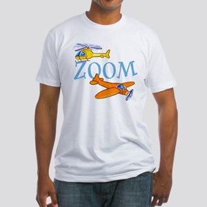 Airplane ZOOM Fitted T-Shirt