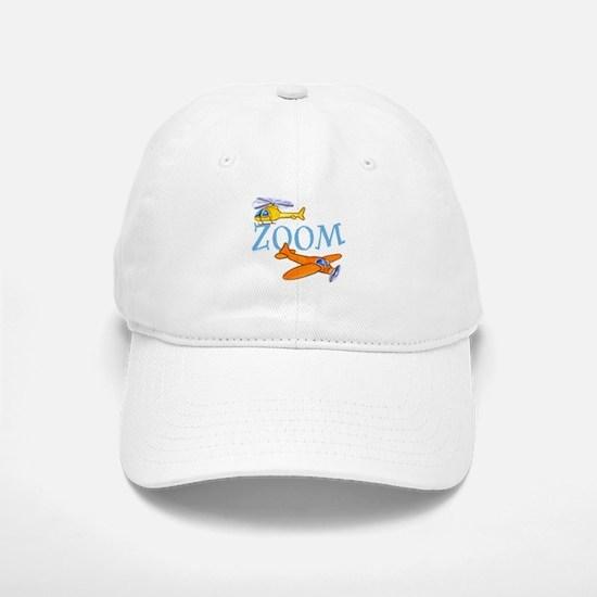 Airplane ZOOM Baseball Baseball Cap