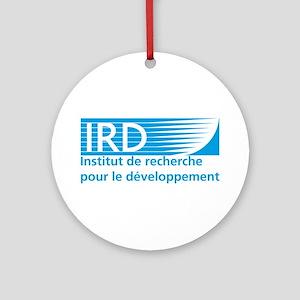 IRD Logo Round Ornament
