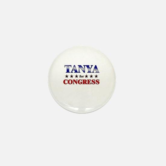 TANYA for congress Mini Button