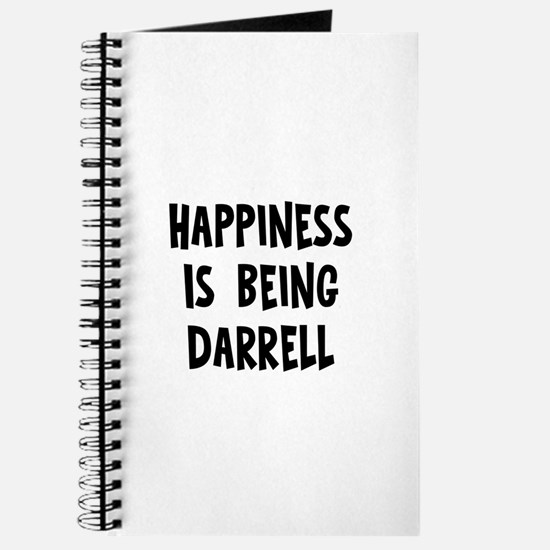 Happiness is being Darrell Journal