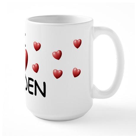I Love Kayden - Large Mug