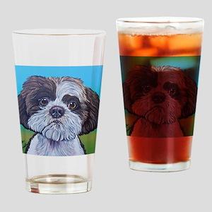 Shih Tzu Drinking Glass