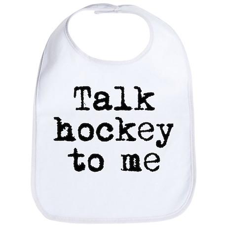 Talk hockey original Bib