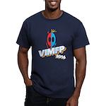 Vimfp 2016 Logo Alien Dark T-Shirt