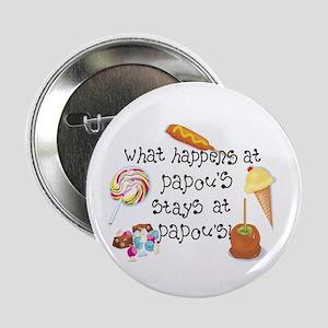 """What Happens at Papou's... 2.25"""" Button"""