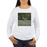 Four Point Buck Women's Long Sleeve T-Shirt