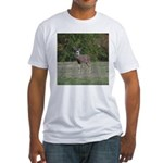 Four Point Buck Fitted T-Shirt