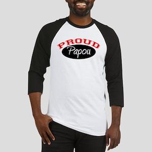 Proud Papou Baseball Jersey