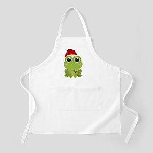 Christmas Frog Apron