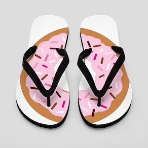 Pink Sprinkles! Flip Flops