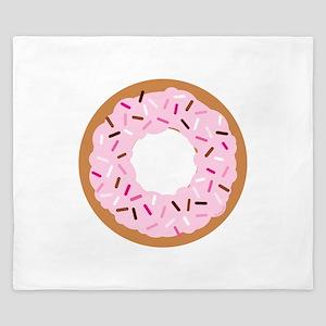 Pink Sprinkles! King Duvet