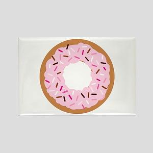 Pink Sprinkles! Rectangle Magnet