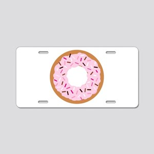 Pink Sprinkles! Aluminum License Plate