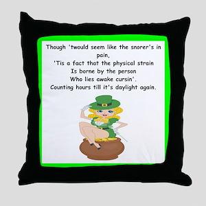 limerick Throw Pillow