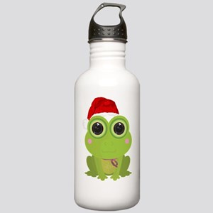Christmas Frog Stainless Water Bottle 1.0L