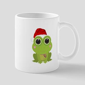 Christmas Frog Mugs