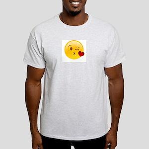 Emoji Kissy Heart T-Shirt