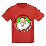 Santa's Cousin Ralph Kids Dark T-Shirt