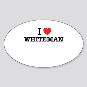 I Love WHITEMAN Sticker