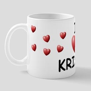 I Love Krista - Mug