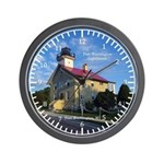 Port Washington Lighthouse Wall Clock