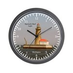 Spectacle Reef Light Wall Clock