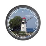 Cheboygan Crib Light Wall Clock
