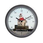 Superior Point Light Wall Clock