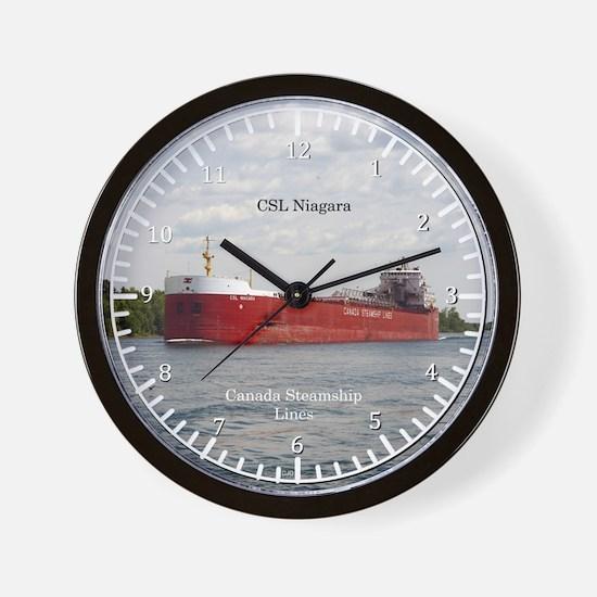 Csl Niagara Wall Clock