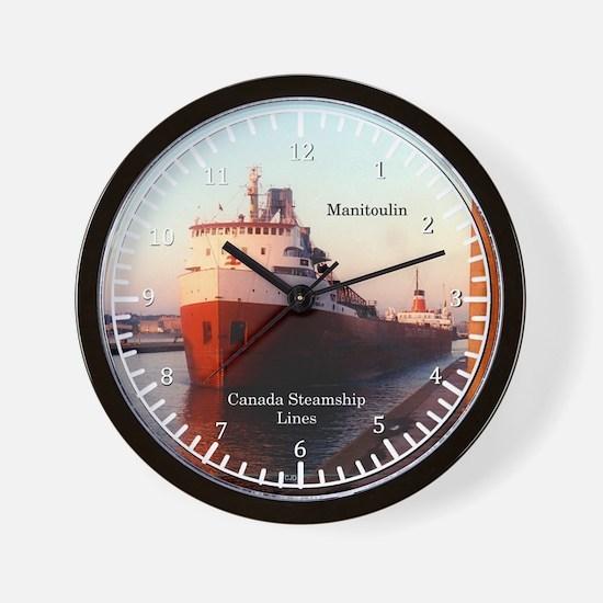 Manitoulin Wall Clock
