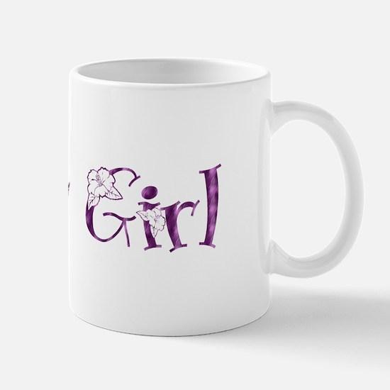 Flower Girl - Purple Blossom Mug