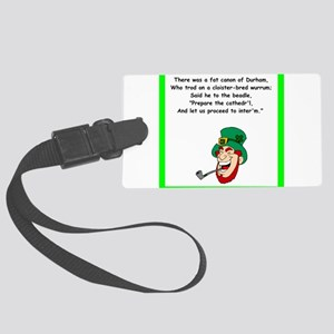 limerick Luggage Tag