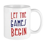 Let the Games Begin (word mug) Mugs