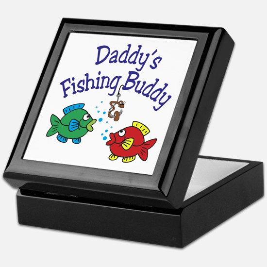 Daddy's Fishing Buddy Keepsake Box
