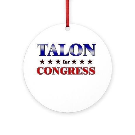 TALON for congress Ornament (Round)