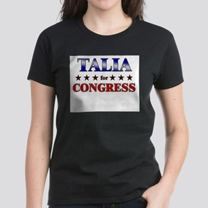 TALIA for congress Women's Dark T-Shirt