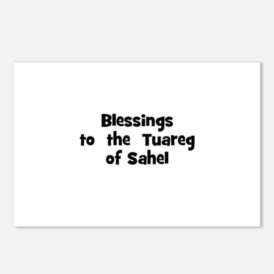 Blessings  to  the  Tuareg of Postcards (Package o