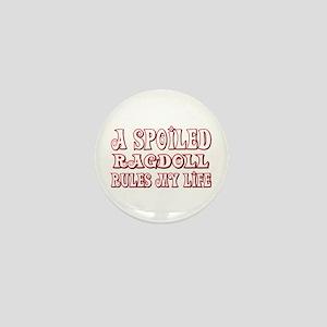 Spoiled Ragdoll Mini Button
