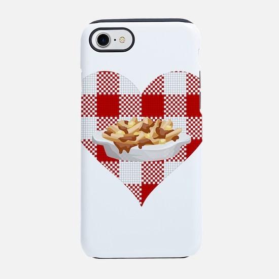 love poutine iPhone 8/7 Tough Case