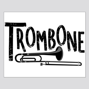 Rough Trombone Text Posters