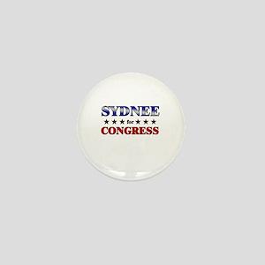 SYDNEE for congress Mini Button