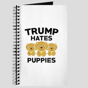 Trump Hates Puppies Journal