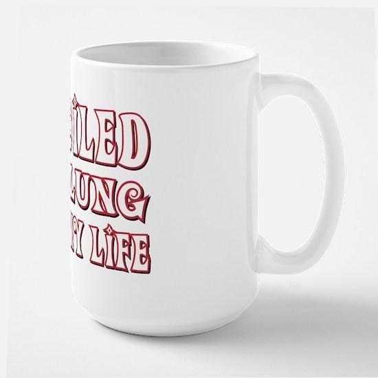 Spoiled Nebelung Large Mug