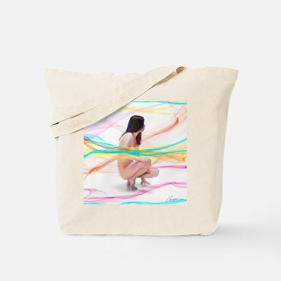 Unique Figure painting Tote Bag
