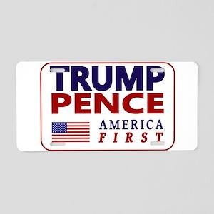 Trump Pence '16 Aluminum License Plate