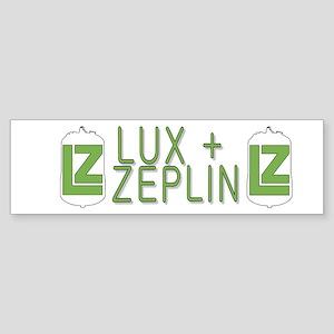 The LZ Collaboration Sticker (Bumper)