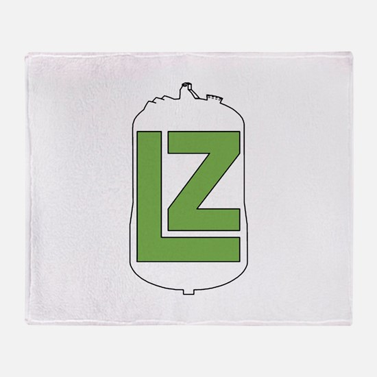 The LZ Collaboration Throw Blanket
