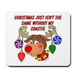 Christmas without my Coastie Mousepad